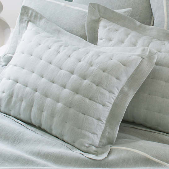 Brussels Sky Quilted Sham