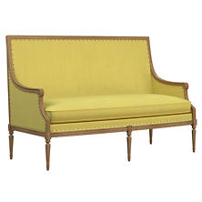 Estate Linen Citrus Bryson Settee