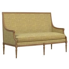 Heritage Chartreuse Bryson Settee