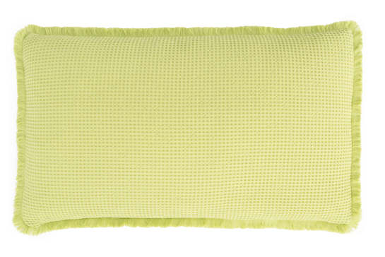 Bubble Citrus Matelassé Decorative Pillow