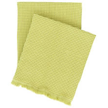 Bubble Citrus Matelassé Throw