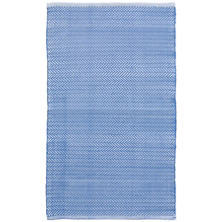 C3 Herringbone French Blue Indoor/Outdoor Rug