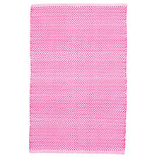 Herringbone Fuchsia Indoor/Outdoor Rug