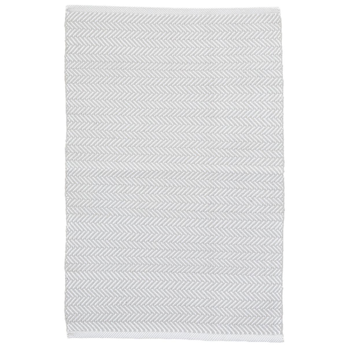 C3 Herringbone Pearl Grey Indoor/Outdoor Rug | Dash & Albert