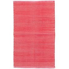 Herringbone Red Indoor/Outdoor Rug Swatch