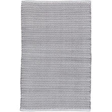 Herringbone Shale/White Indoor/Outdoor Rug