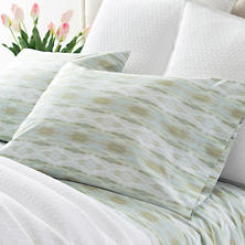 Carolina Percale Mist Pillowcases