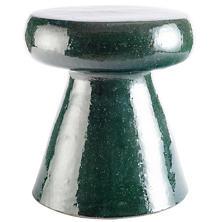 Carmen Eucalyptus Ceramic Stool