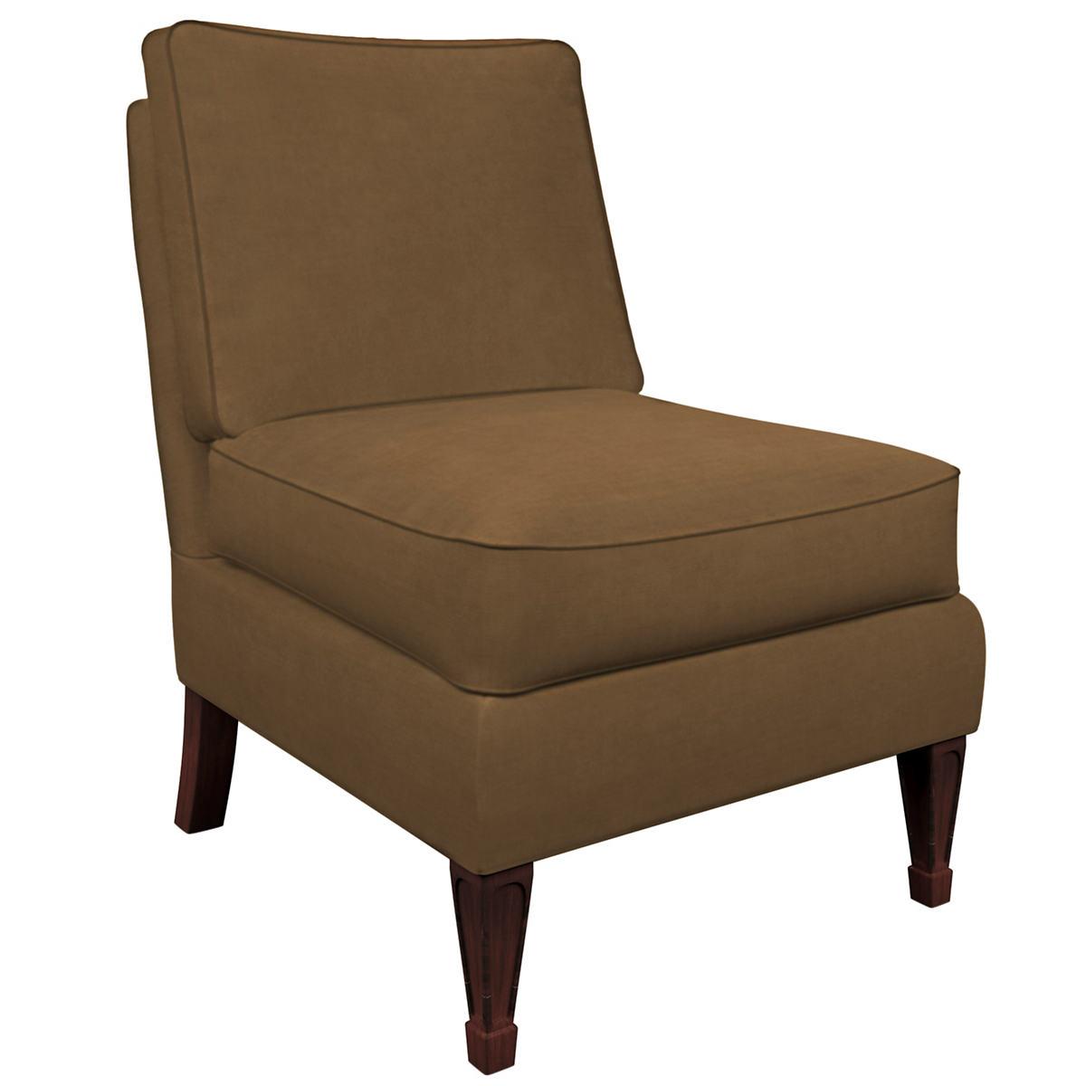 Velvesuede Camel Eldorado Chair