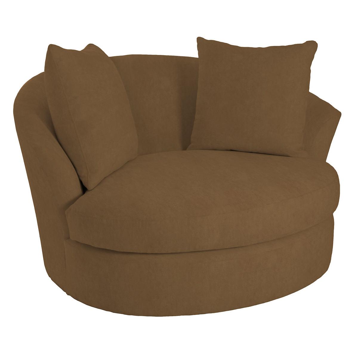 Velvesuede Camel Kenly Chair