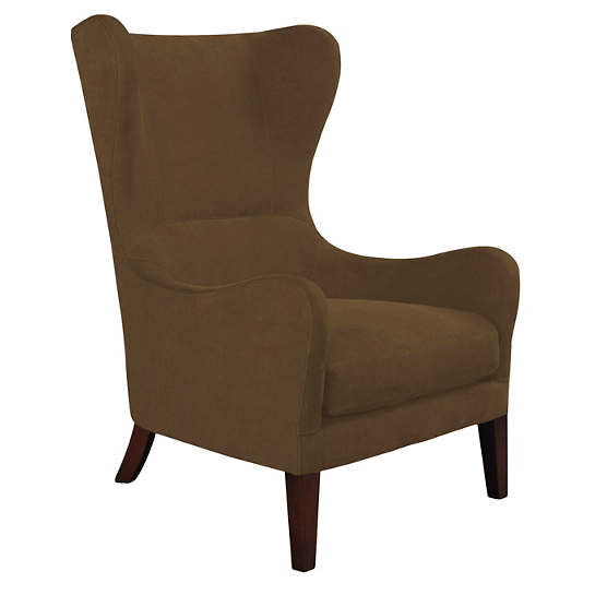 Velvesuede Camel Mirage Tobacco Chair