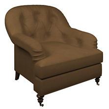 Velvesuede Camel Norfolk Chair