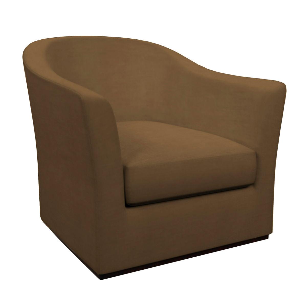 Velvesuede Camel Thunderbird Chair
