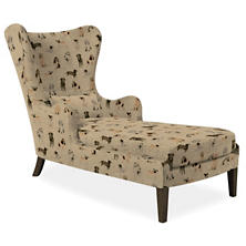 Woof Mirage Smoke Chaise