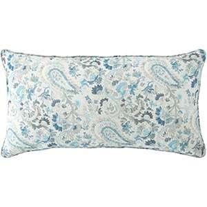 Ines Linen Blue Decorative Pillow