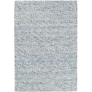 Loggia Sky Woven Wool Rug