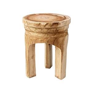 Rustique Wooden Stool