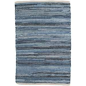 Fine Denim Rag Woven Cotton Rug