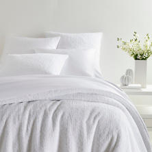 Lola White Coverlet