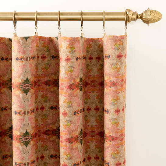 Airlie Linen Curtain Panel