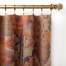 Anatolia Linen Curtain Panel