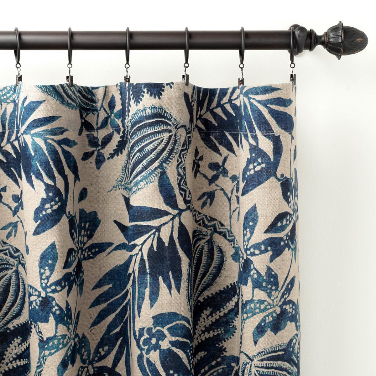 Antigua Linen Curtain Panel