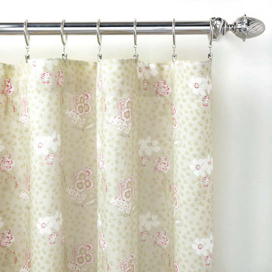 Catherine Linen Curtain Panel