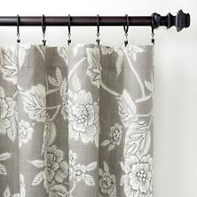 Charlotte Linen Curtain Panel