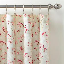 Cherry Blossom Curtain Panel