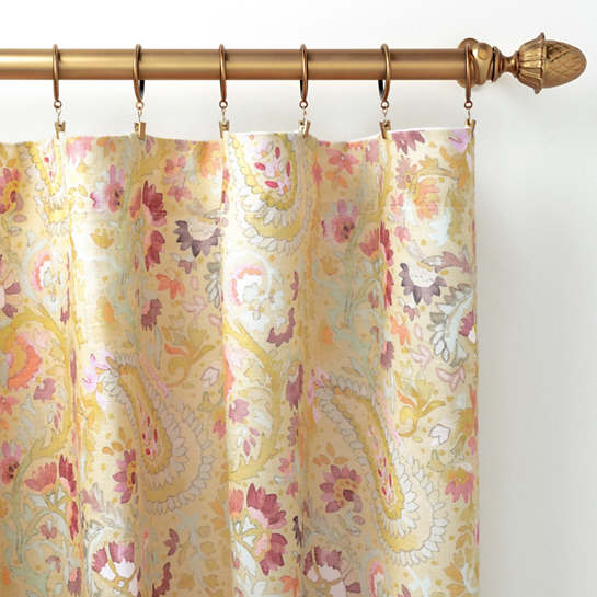 Ines Linen Curtain Panel
