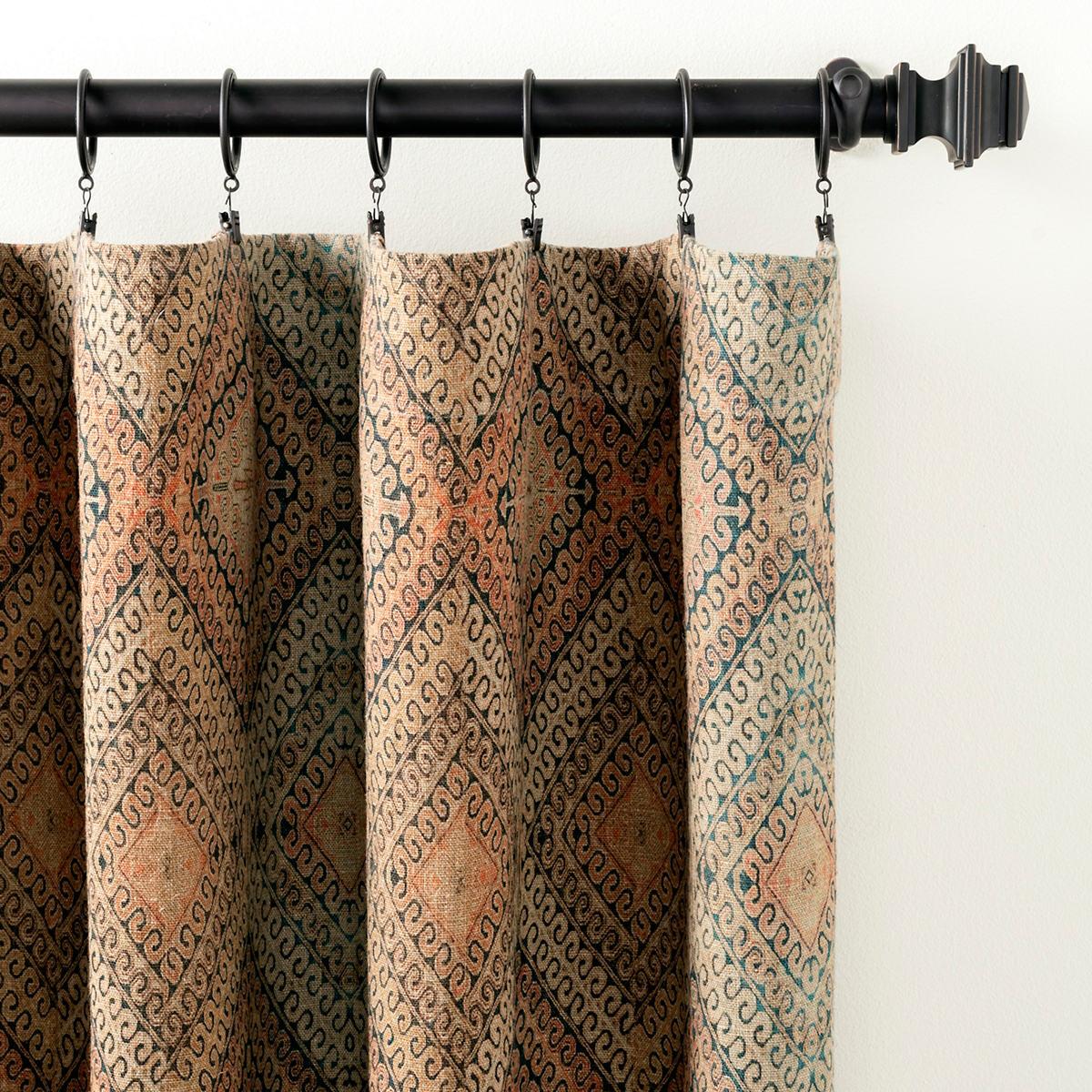 Tibet Linen Curtain Panel