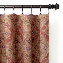 Yasmine Linen Curtain Panel