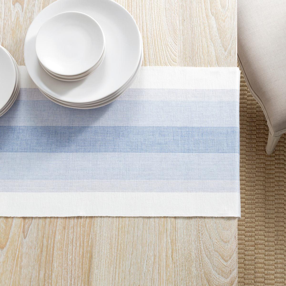 Cafe Stripe Lavender Table Runner