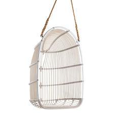 Calamus Dove White Outdoor Swing Chair