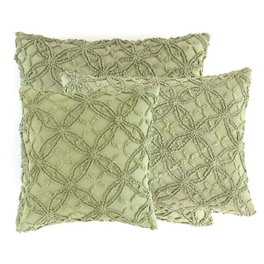 Candlewick Rosemary Decorative Pillows