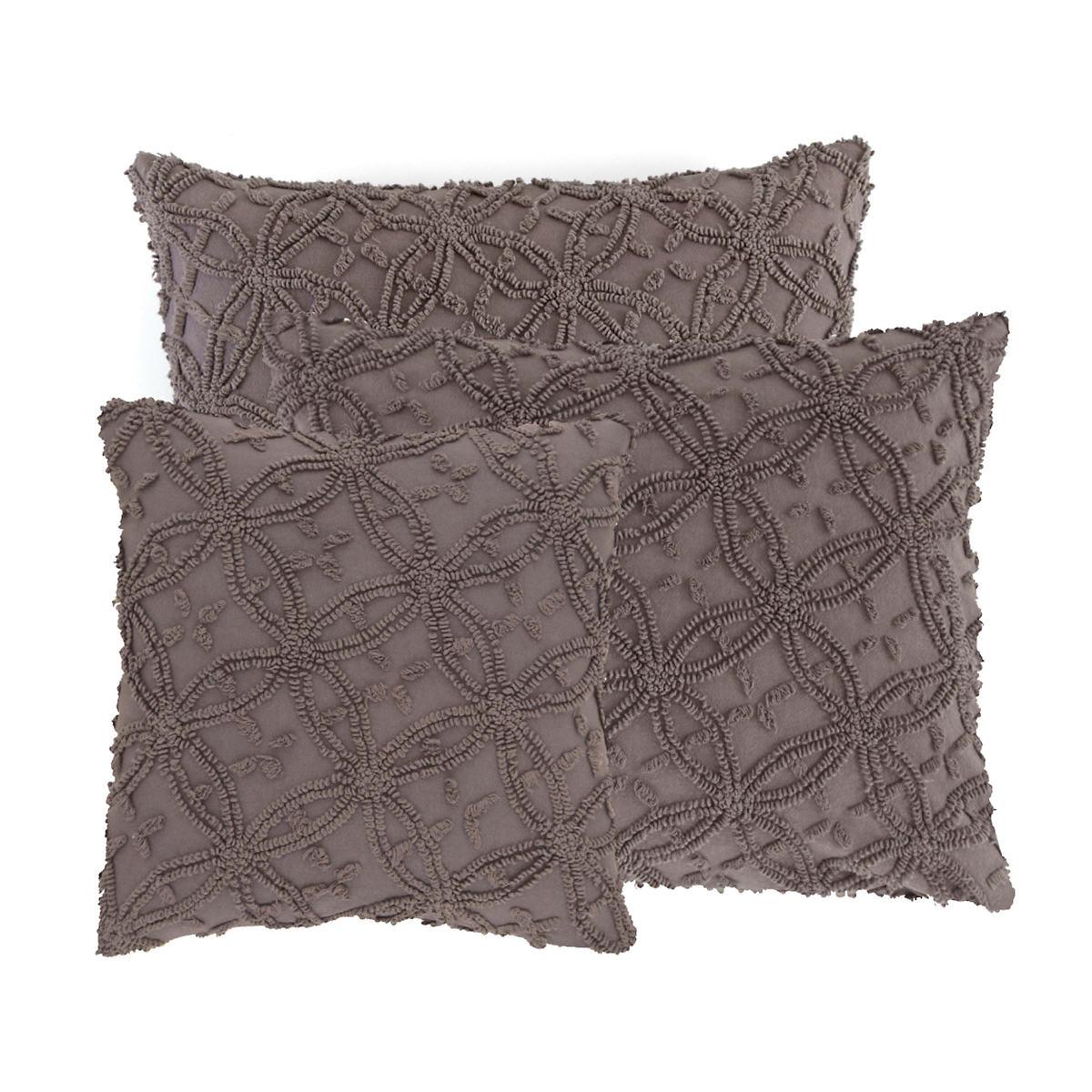 Candlewick Shale Decorative Pillows