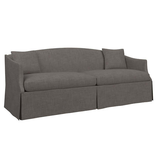 Canvasuede Charcoal Avignon Sofa
