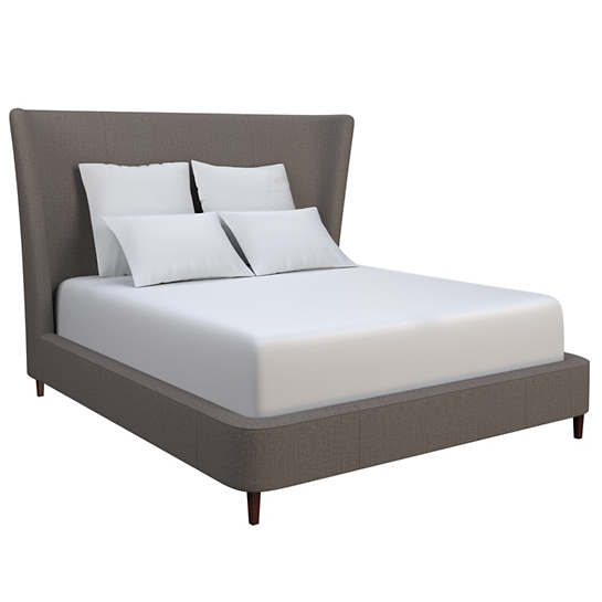 Canvasuede Charcoal Boulevard Bed