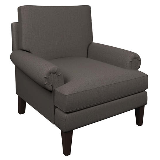 Canvasuede Charcoal Easton Chair