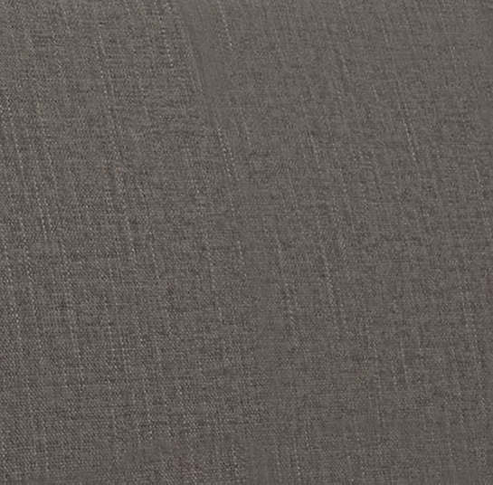 Canvasuede Charcoal Ellis Chair Slipcover