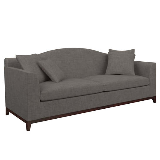 Canvasuede Charcoal Marseille Sofa
