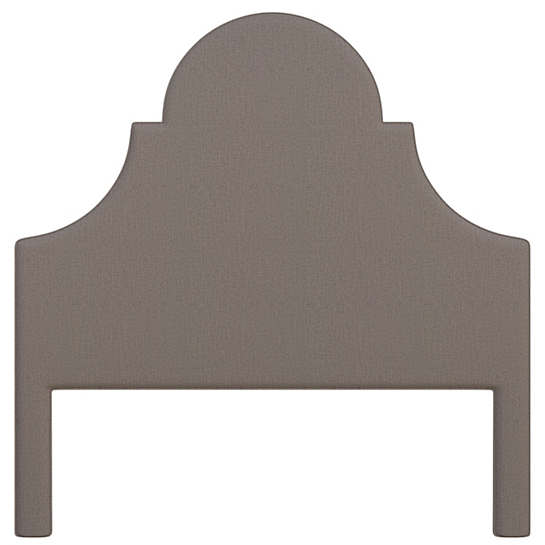 Canvasuede Charcoal Montaigne Headboard