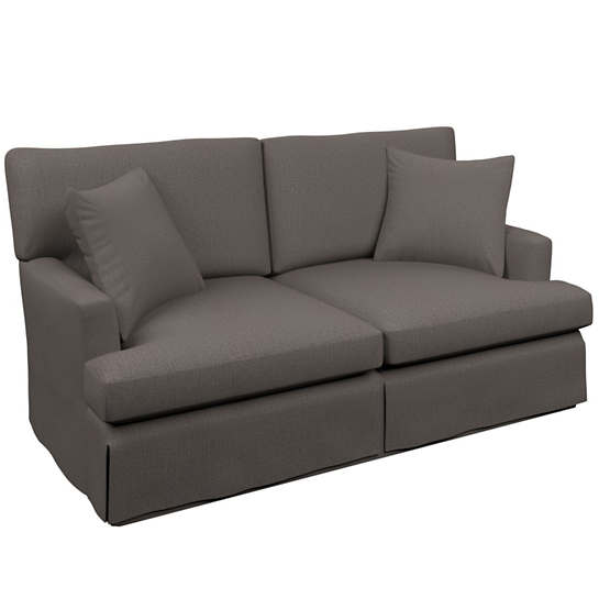 Canvasuede Charcoal Saybrook 2 Seater Sofa