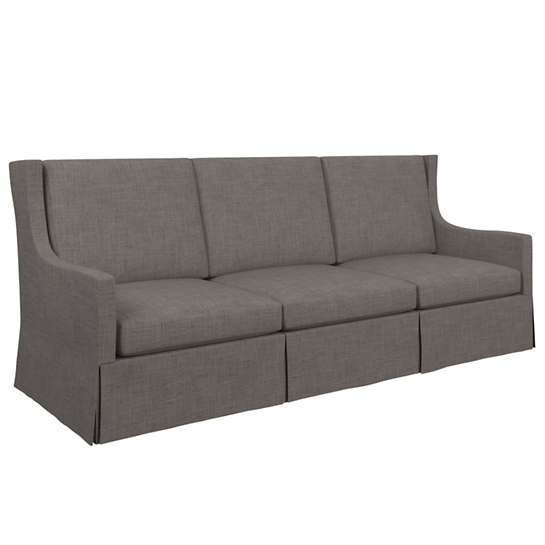 Canvasuede Charcoal Toulouse Sofa