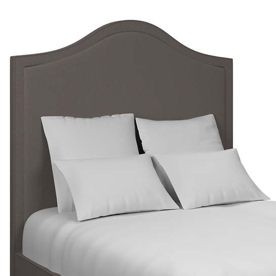 Canvasuede Charcoal Westport Headboard