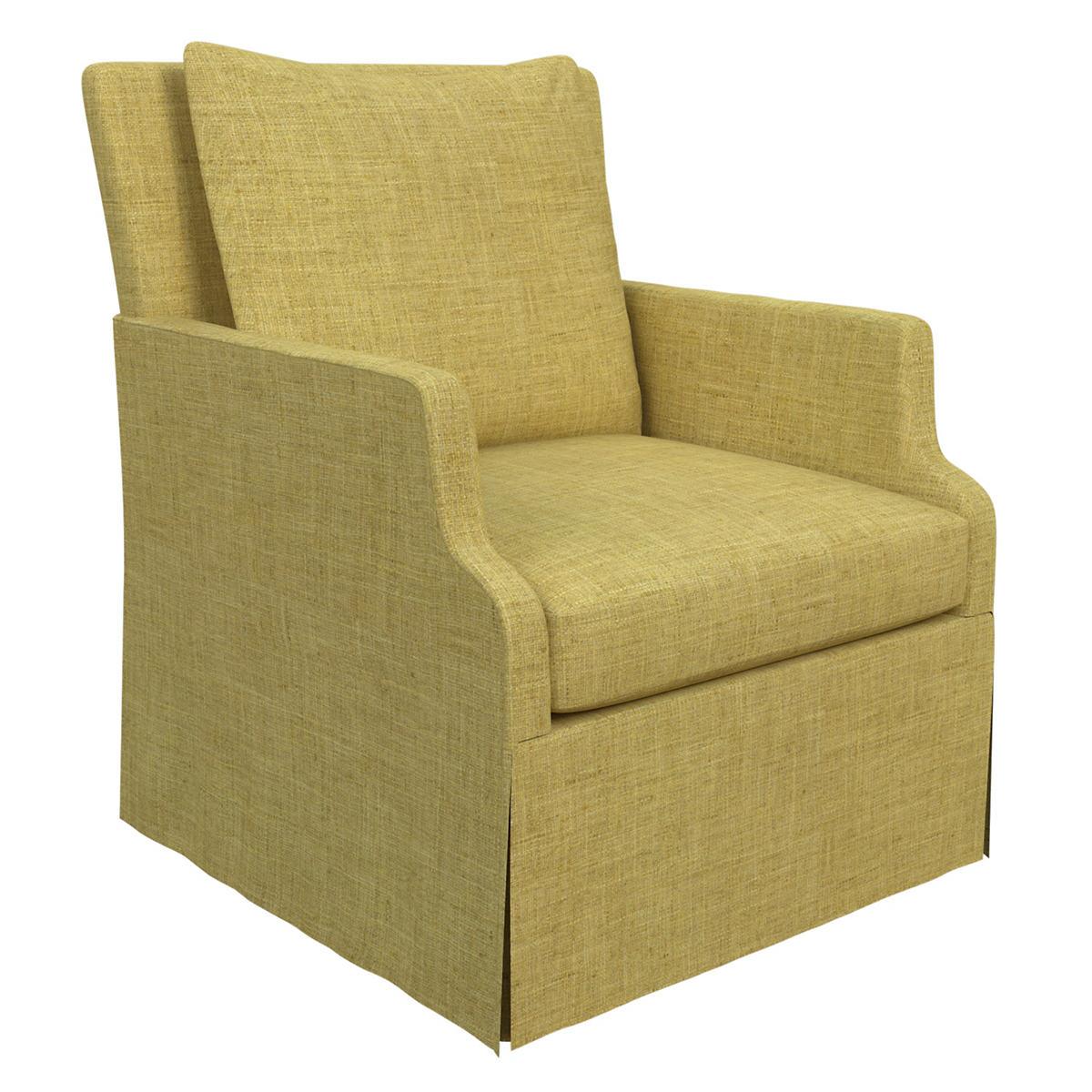 Canvasuede Citrus Aix Chair