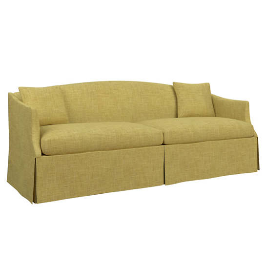 Canvasuede Citrus Avignon Sofa