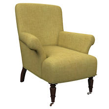 Canvasuede Citrus Barrington Chair