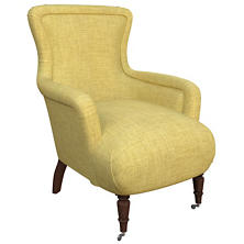 Canvasuede Citrus Charleston Chair