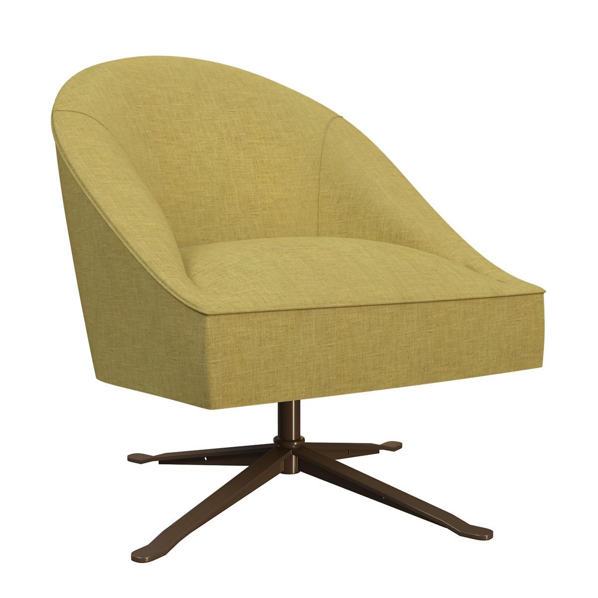 Canvasuede Citrus Embrace Chair